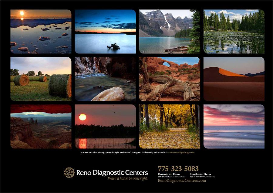 2011 Scenic Landscape Calendar | Robert Sojka - Chicago Wedding ...